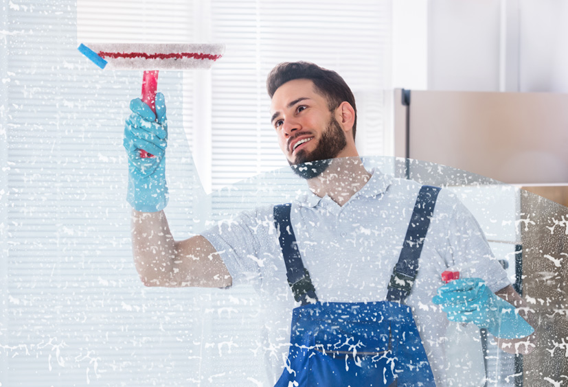 Nettoyage de vitre de qualité