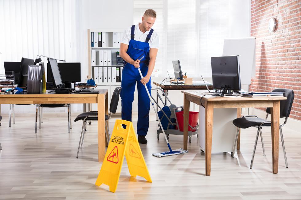 Services de nettoyage de bureaux professionnels